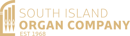 South Island Organ Company Gold Transparent Small Retina