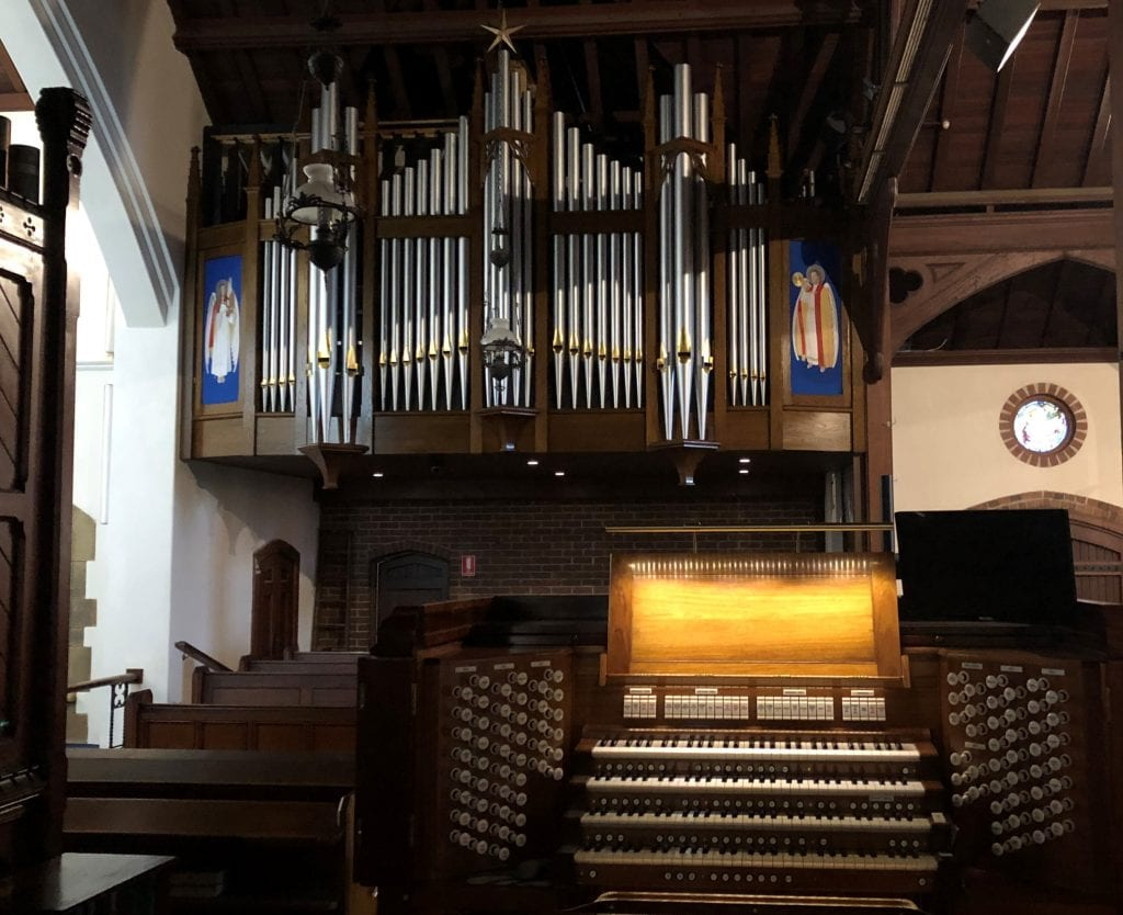 St John Gordon organ